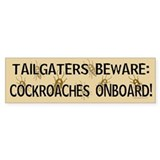 Cockroach Bumper Bumper Sticker