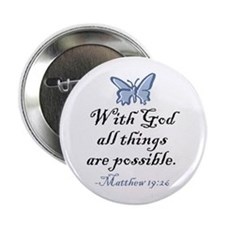 "Matthew 19:26 2.25"" Button"
