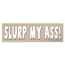Slurp Bumper Bumper Sticker
