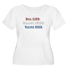HILLARY CRIED T-Shirt