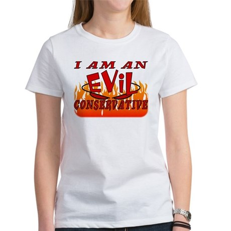 Evil Conservative Women's T-Shirt