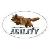 Agility Jumpin Oval Decal