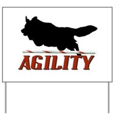Agility Jumpin Yard Sign