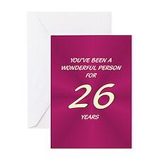 Wonderful Person - Birthday Card - 26