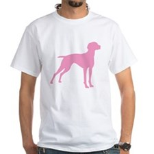 Pink Vizsla Dog Shirt