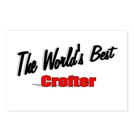 """The World's Best Crofter"" Postcards (Package of 8"