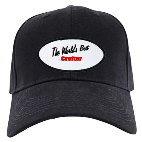 """The World's Best Crofter"" Black Cap"
