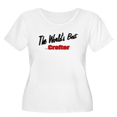 """The World's Best Crofter"" Women's Plus Size Scoop"