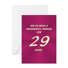 Wonderful Person - Birthday Card - 29