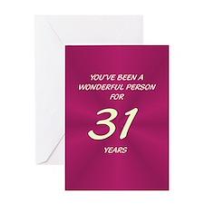 Wonderful Person - Birthday Card - 31