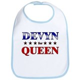 DEVYN for queen Bib