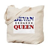 DEVAN for queen Tote Bag