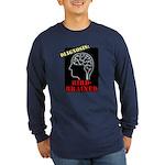 Diagnosis: Bird-Brained Long Sleeve Dark T-Shirt
