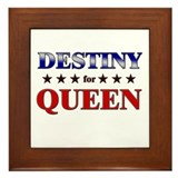 DESTINY for queen Framed Tile