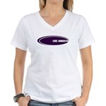 LOS ANGELES Women's V-Neck T-Shirt
