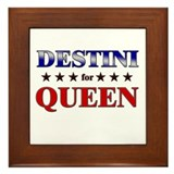 DESTINI for queen Framed Tile
