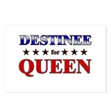 DESTINEE for queen Postcards (Package of 8)