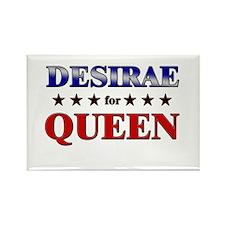 DESIRAE for queen Rectangle Magnet