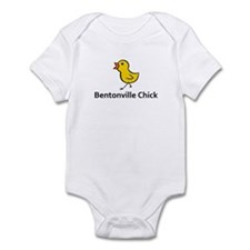 Bentonville Chick Infant Bodysuit
