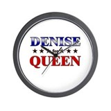 DENISE for queen Wall Clock