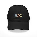 Peace Love Bird Black Cap