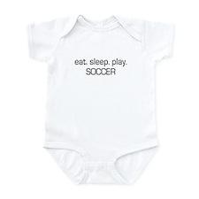 Eat Sleep Play Soccer Infant Bodysuit