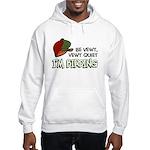 Be Vewy Quiet I'm Birding Hooded Sweatshirt