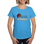 Be Vewy Quiet I'm Birding Women's Dark T-Shirt