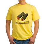 Natural Born Birder Yellow T-Shirt