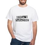 Birda's Paradise White T-Shirt