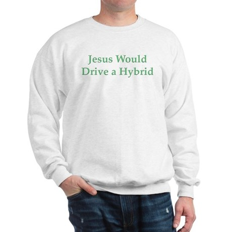Jesus and Hybrid Sweatshirt