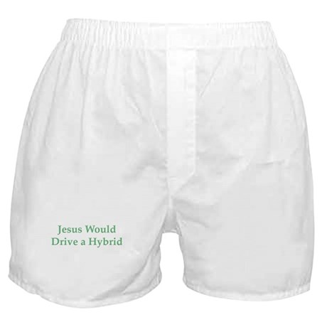 Jesus and Hybrid Boxer Shorts