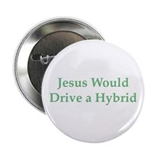 "Jesus and Hybrid 2.25"" Button"