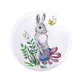 "Peter Cottontail II 3.5"" Button (100 pack)"