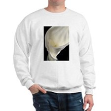 White Calla Lilly I Sweatshirt