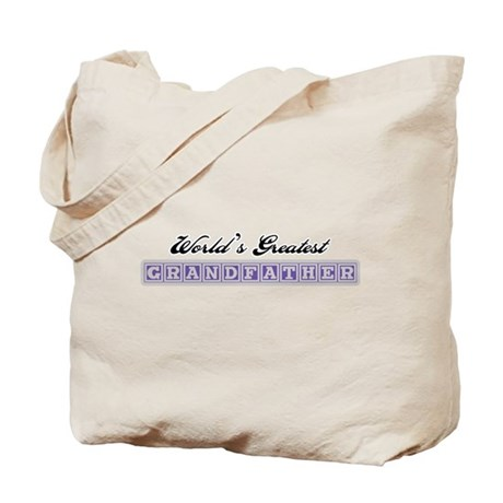 World's Greatest Grandfather Tote Bag