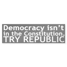 Republic Bumper Bumper Sticker