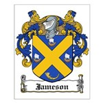 Jameson Family Crest Small Poster