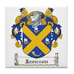 Jameson Family Crest Tile Coaster