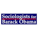 Sociologists for Barack Obama sticker