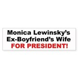 Monica Lewinsky's Ex-Boyfriends Wife for President