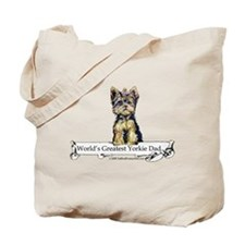 Yorkshire Terrier Dad! Tote Bag