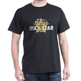 Beagle RockStar by Night T-Shirt