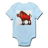 Cute Razorbacks Infant Bodysuit