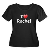 I Love Rachel (W) Women's Plus Size Scoop Neck Dar