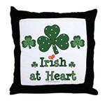 Irish at Heart St Patrick's Throw Pillow