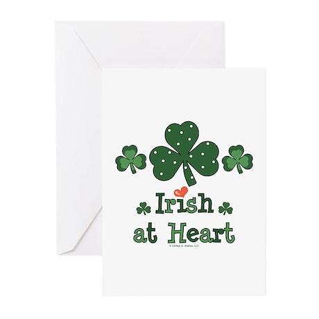 Irish at Heart St Patrick's Greeting Cards (Pk of