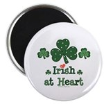 Irish at Heart St Patrick's Magnet