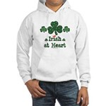 Irish at Heart St Patrick's Hooded Sweatshirt