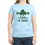 Irish at Heart St Patrick's Women's Light T-Shirt